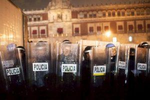 10. En la casilla 95 se encuentra la policía de México, con 35 puntos Foto:Getty Images. Imagen Por: