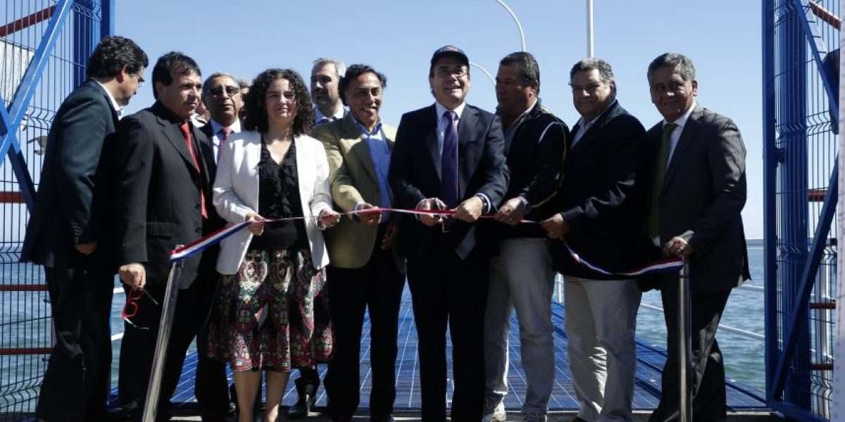 MOP y Subsecretaría de Pesca entregan obras de sector Muelle Viejo en Valparaíso