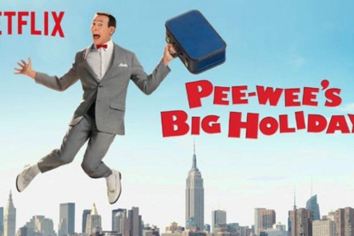 """""""Pee-Wee's Big Holiday"""" – Disponible a partir del 18 de marzo.. Imagen Por:"""