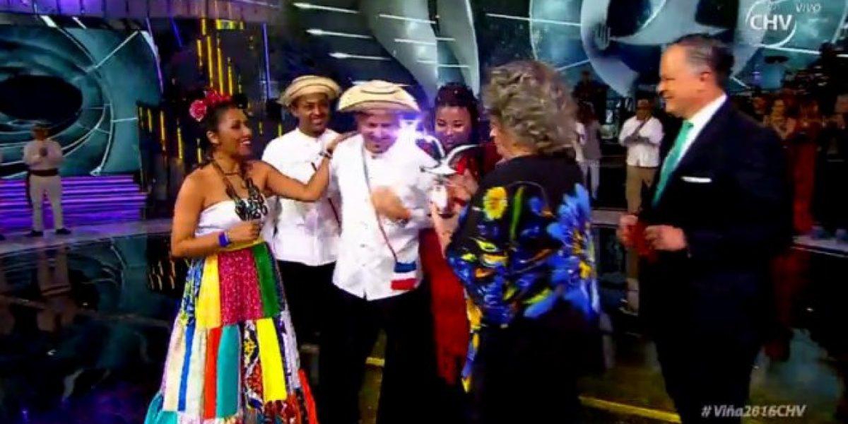 ¡A Panamá se va #LaGaviota de la competencia folclórica!