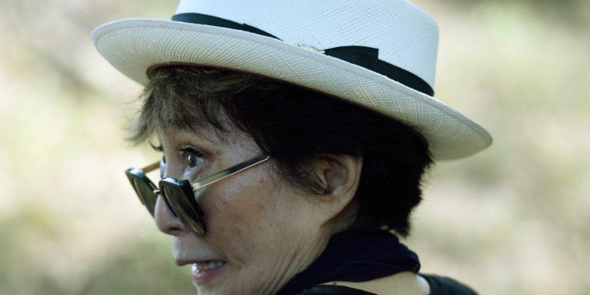 Hospitalizan a Yoko Ono tras sufrir problema de salud en Nueva York