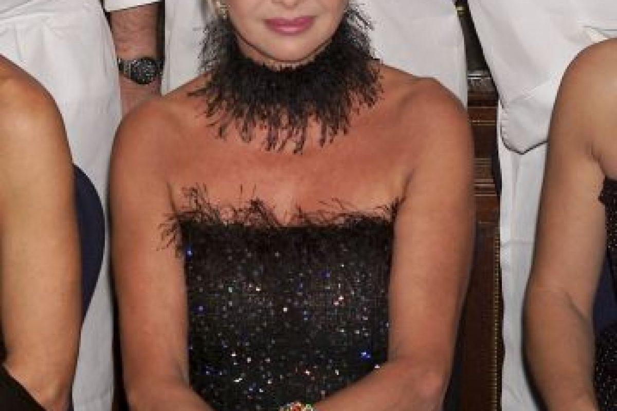 Una exmodelo de 67 años Foto:Getty Images. Imagen Por:
