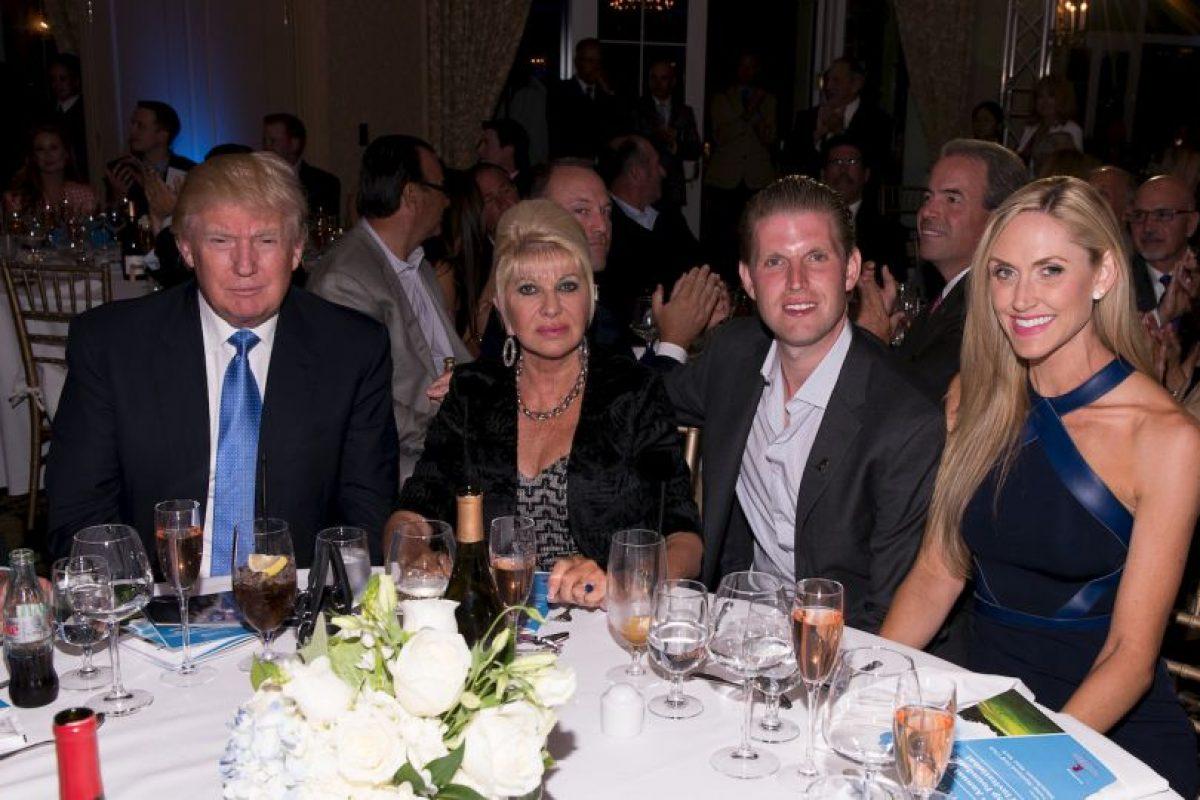 Ivana se ha casado dos veces después de su divorcio con Donald Trump, Foto:Getty Images. Imagen Por: