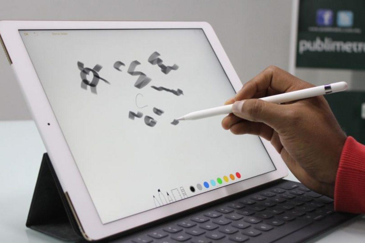 Apple Pencil responde a diferentes tipos de presión. Foto:Nicolás Corte. Imagen Por: