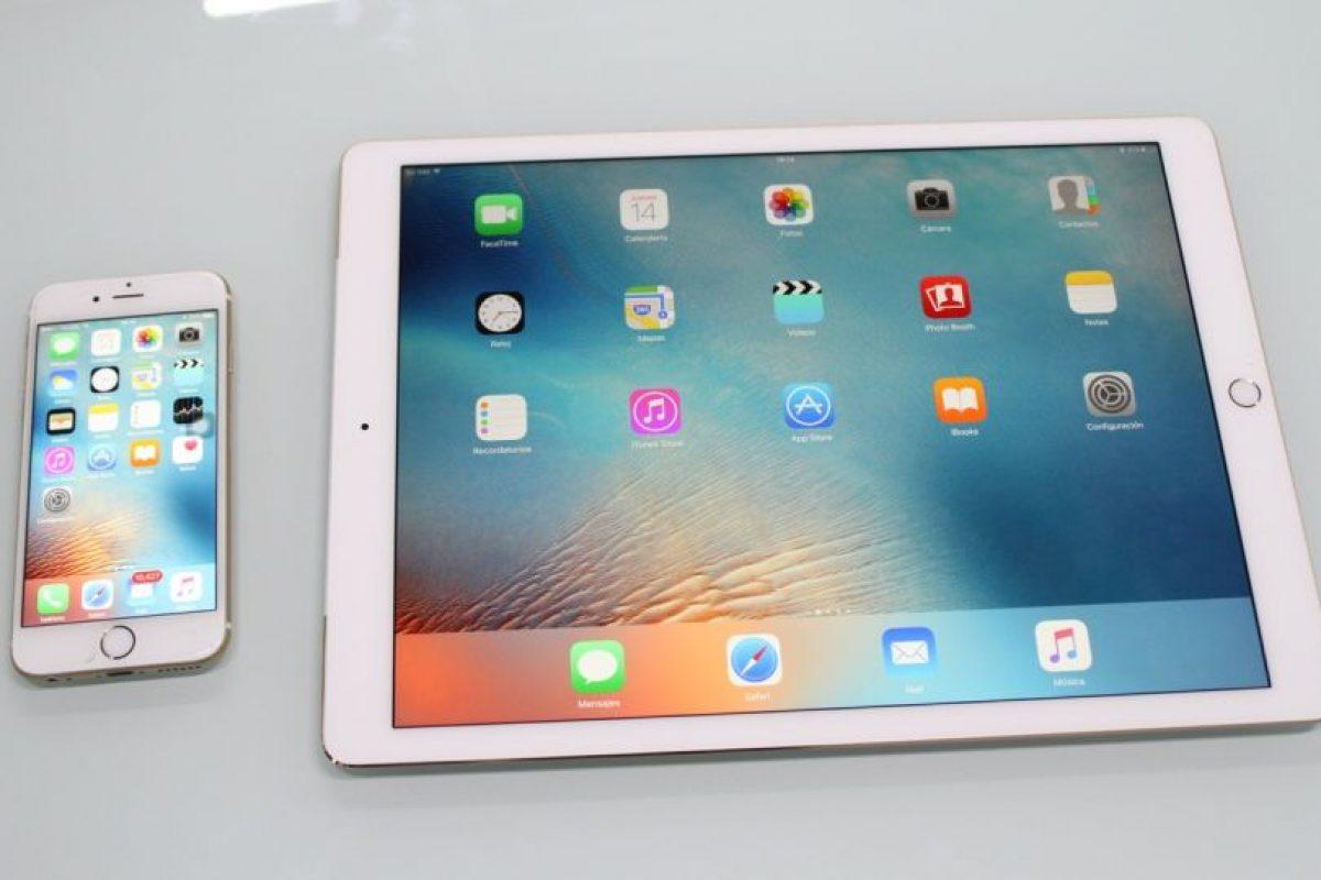 iPhone 6s (izquierda) y iPad Pro (derecha). Foto:Nicolás Corte. Imagen Por: