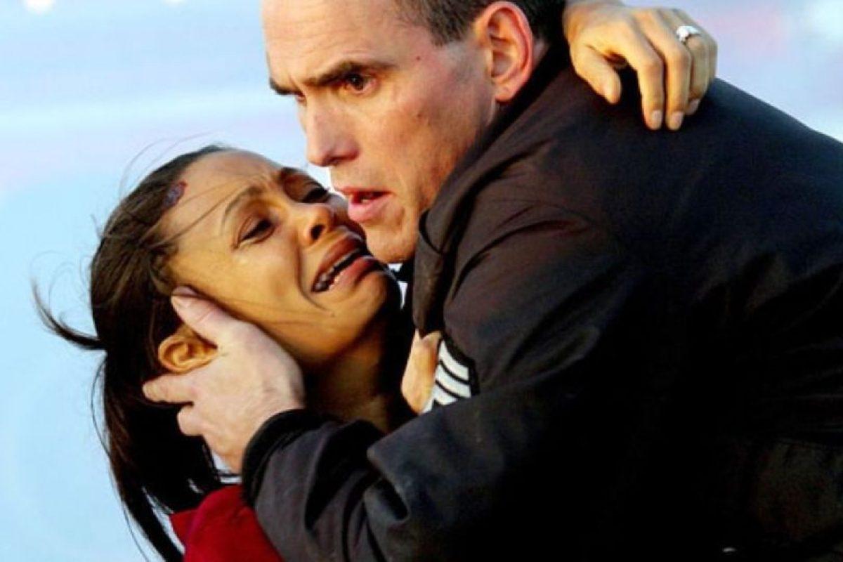 """""""Crash"""" (""""Alto impacto"""" en México, """"Vidas cruzadas"""" en Argentina y Colisión"""" en España). Resultó ganadora de tres Premios Óscar en la edición de 2005, incluyendo el Óscar a la mejor película, mejor guión original y mejor montaje. Foto:Lions Gate Films. Imagen Por:"""