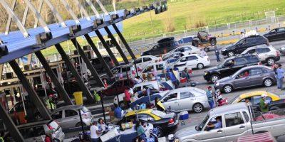 426 mil autos se espera que retornen hoy a Santiago