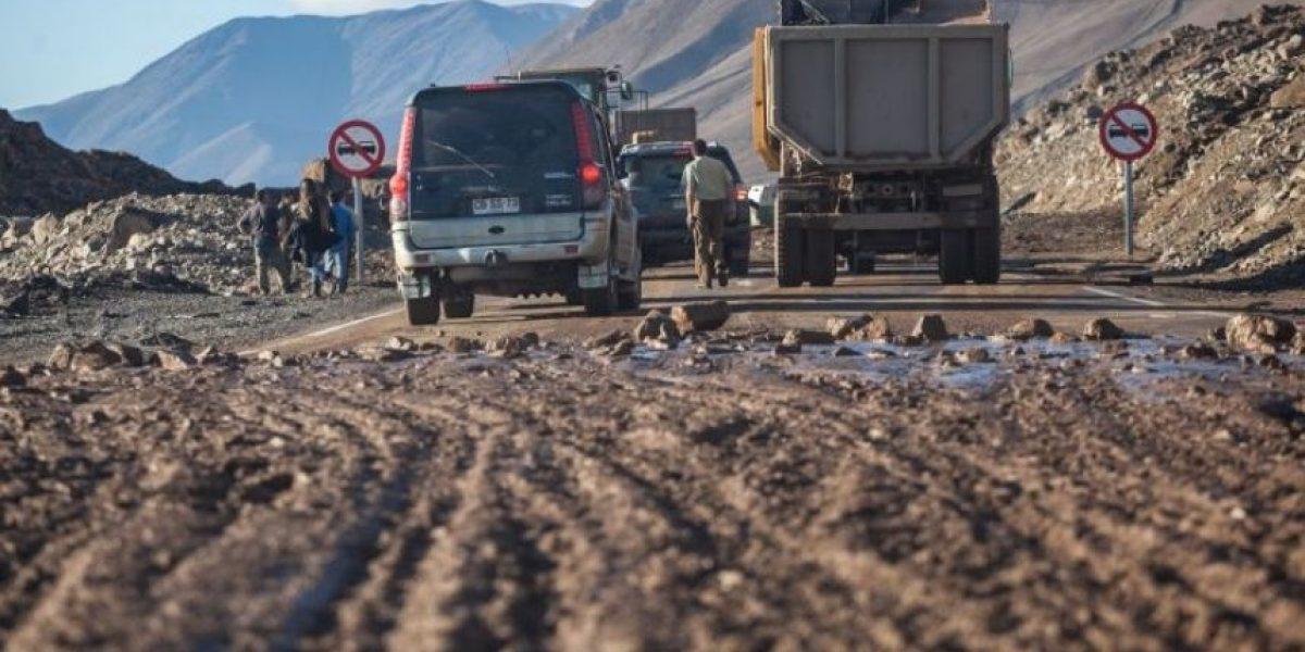 Onemi: precipitaciones en zona norte de Chile dejaron a 268 personas aisladas