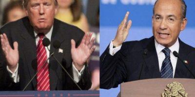 Calderón se suma a Fox y compara a Donald Trump con Hitler por su actitud hacia México