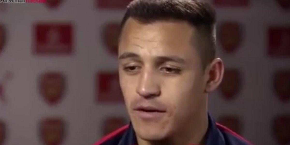 Alexis Sánchez causó furor dando su primera entrevista en inglés