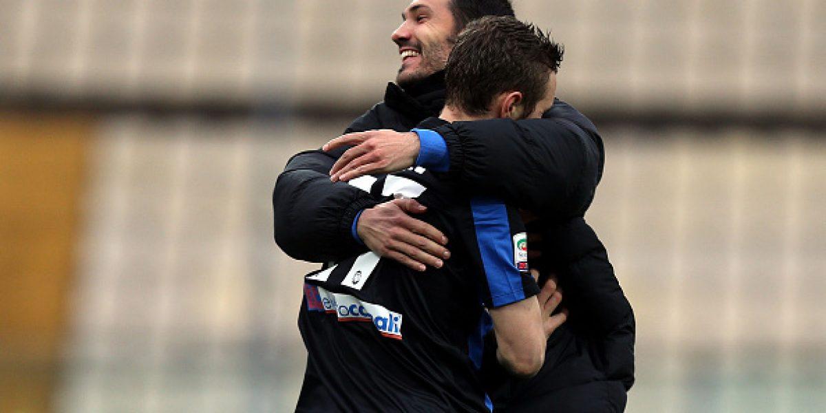 Mauricio Pinilla fue titular en amargo empate del Atalanta ante el humilde Carpi