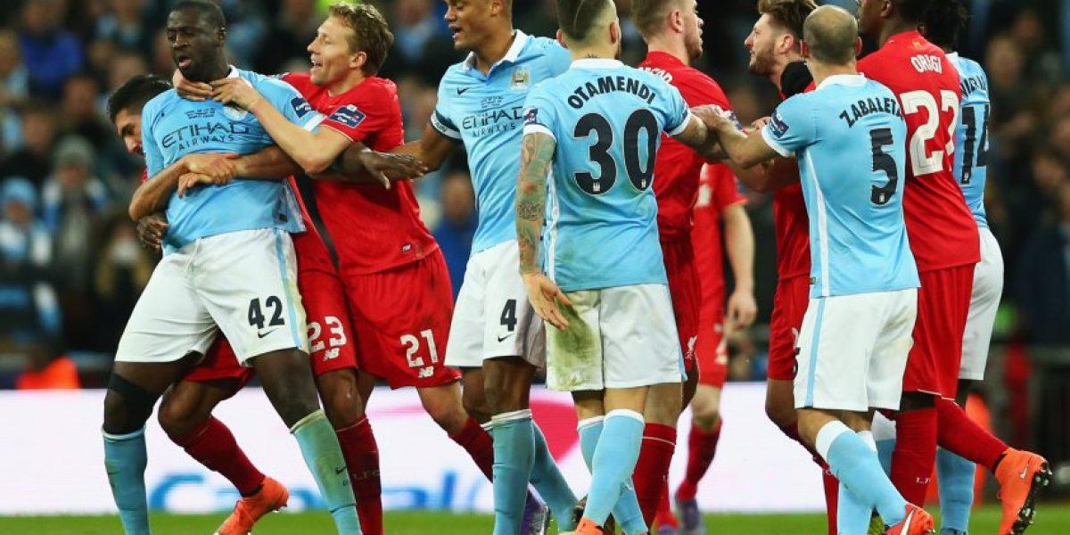 Manchester City, del DT Manuel Pelligrini, campeón de la Copa de la Liga