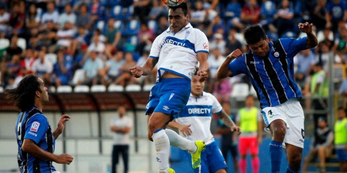 Así vivimos el entretenido empate de la UC contra Huachipato en San Carlos