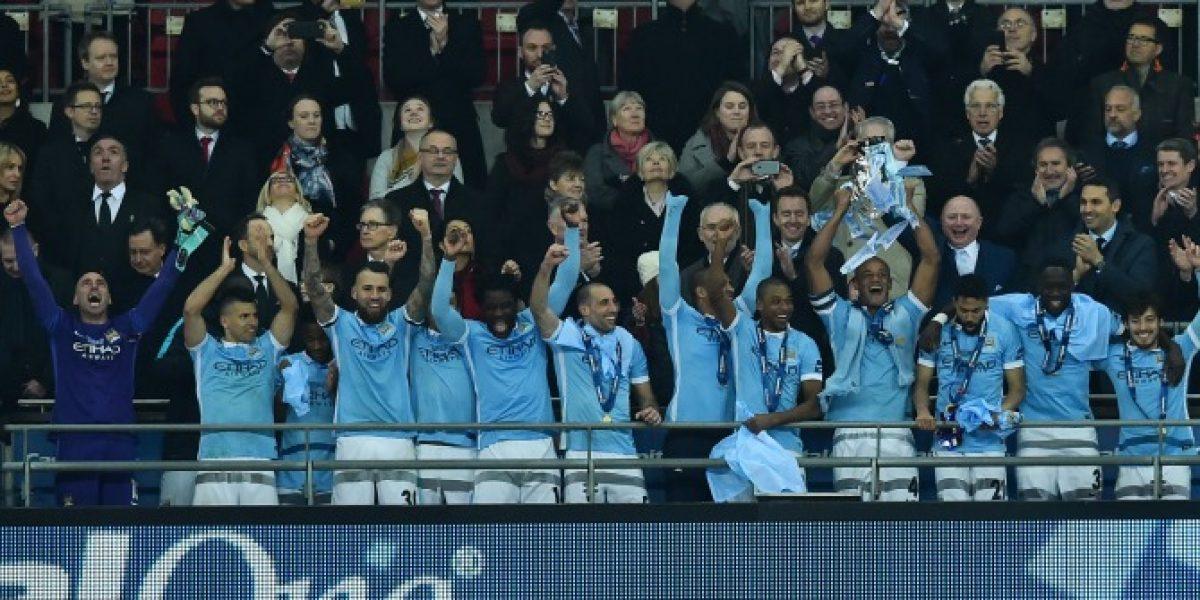 Así vivimos la emocionante final de la Capital One Cup entre el Manchester City y el Liverpool