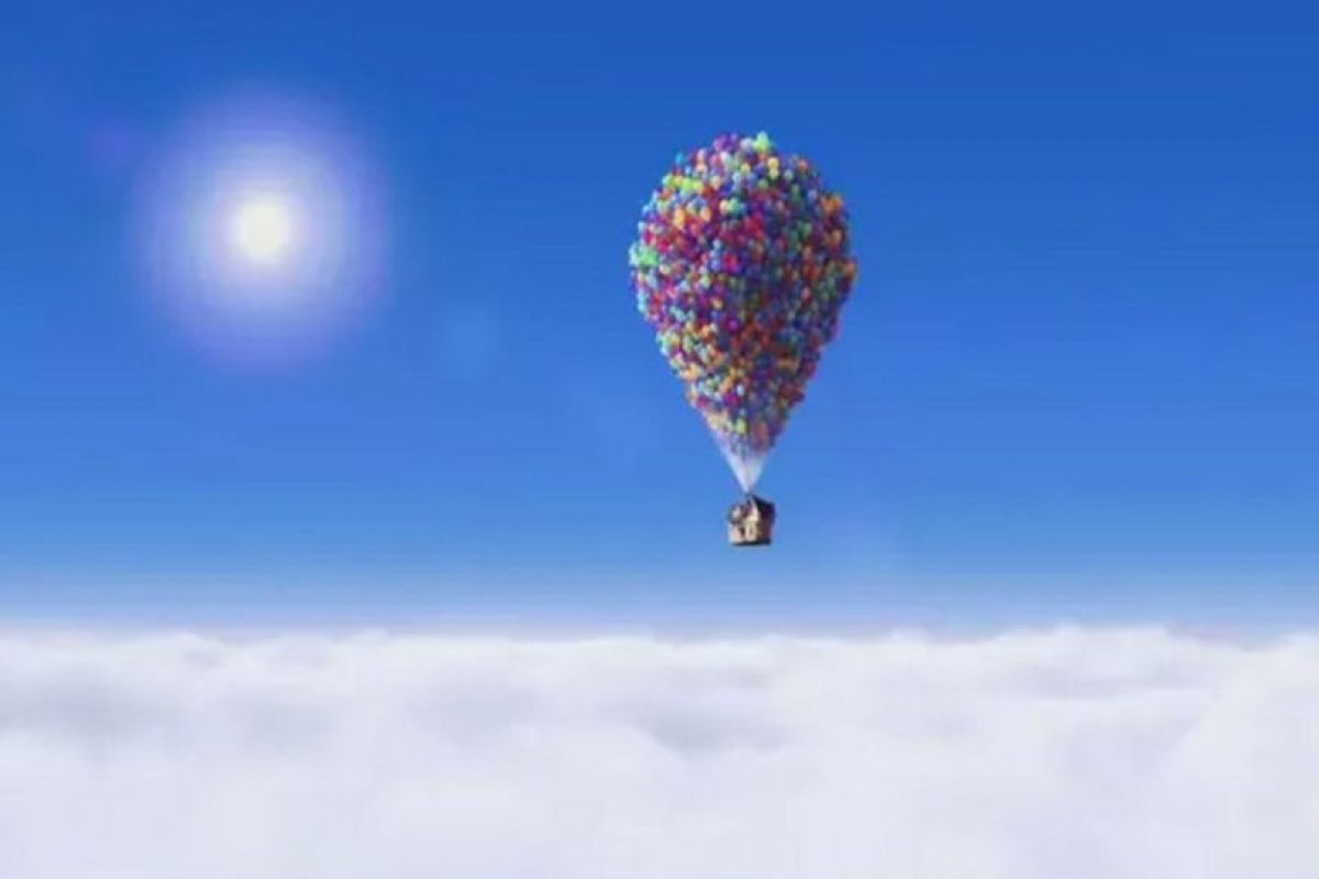 """""""Up"""", titulada """"Up: una aventura de altura"""" en hispanoamérica, es una película de animación y aventuras estrenada en 2009 y ganadora de dos premios Óscar por mejor película de animación y mejor banda sonora. Foto:Disney Pixar. Imagen Por:"""