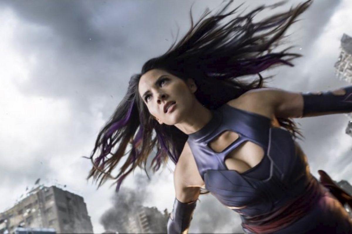 """Uno de los """"cuatro jinetes del Apocalipsis"""", según la trama de Marvel Cómics Foto:vía instagram.com/oliviamunn. Imagen Por:"""