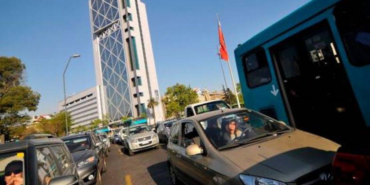 Las calles de Santiago son 15% más lentas que hace cinco años