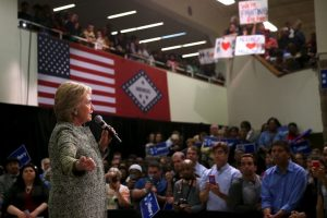 Hasta el momento su único y principal rival en el partido es Bernie Sanders Foto:AFP. Imagen Por: