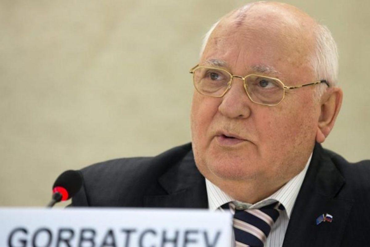 Mijaíl Gorbachov. Foto:Efe. Imagen Por: