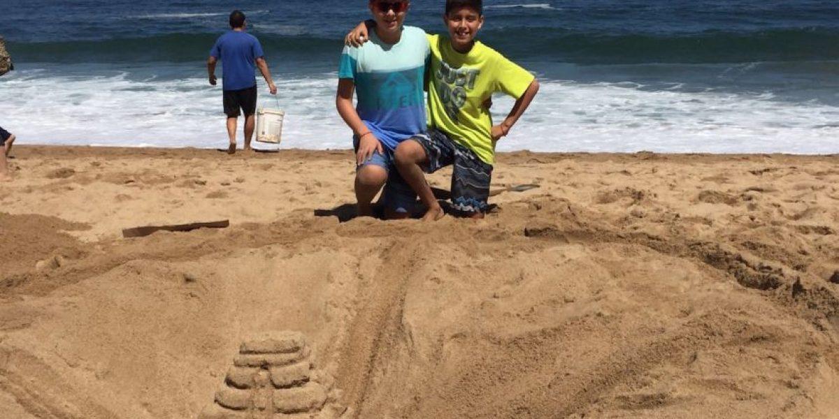 Premiando a los mejores castillos de arena Viña del Mar dice adiós al verano