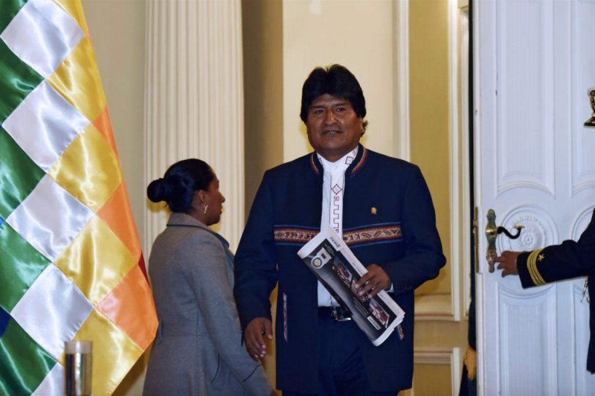 Evo Morales. Foto:AFP. Imagen Por:
