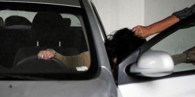 Un herido deja violento 'portonazo' en Las Condes