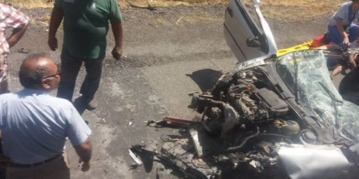 Pelequén: dos muertos y cinco heridos en grave accidente en Ruta 5 Sur
