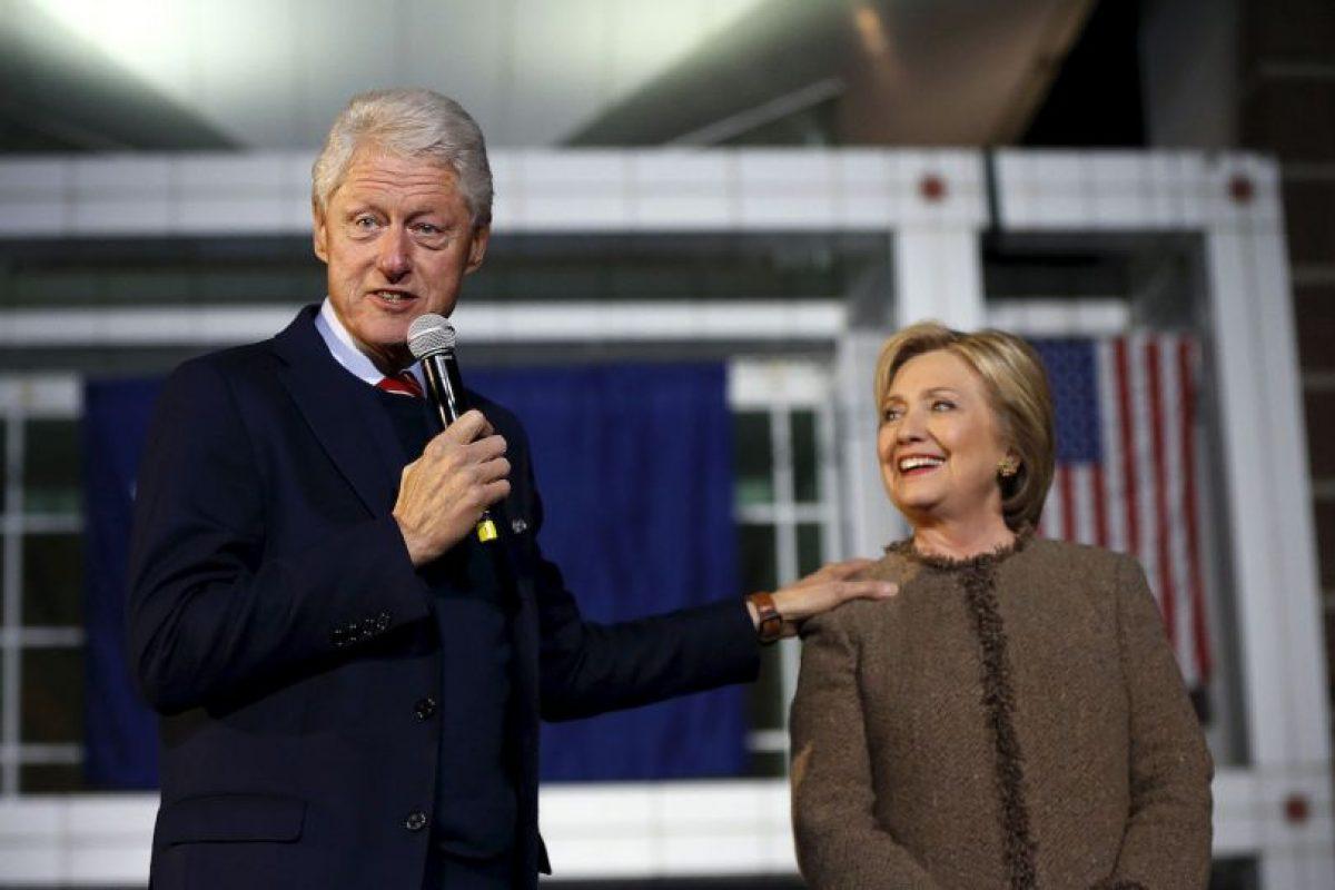 Durante el mandato de Bill Clinton fue primera dama. Foto:AP. Imagen Por: