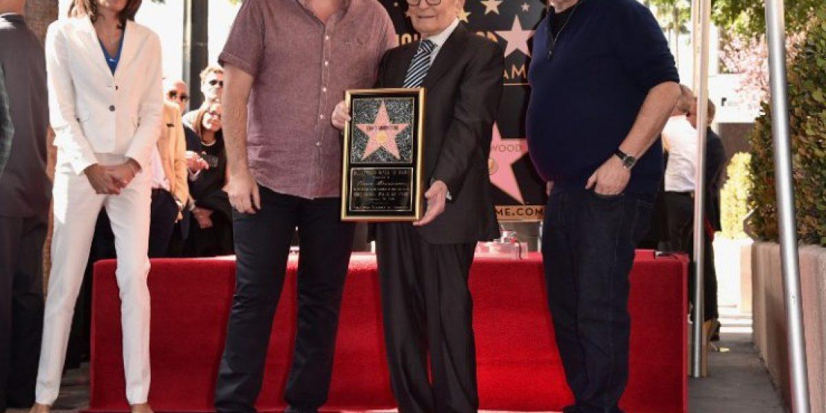 Ennio Morricone recibe su estrella en el Paseo de la Fama de Hollywood