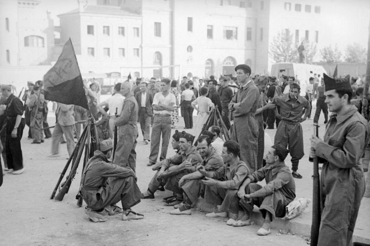 El año 1936, marcó el inició de la Guerra Cilvil española. Foto:Getty Images. Imagen Por: