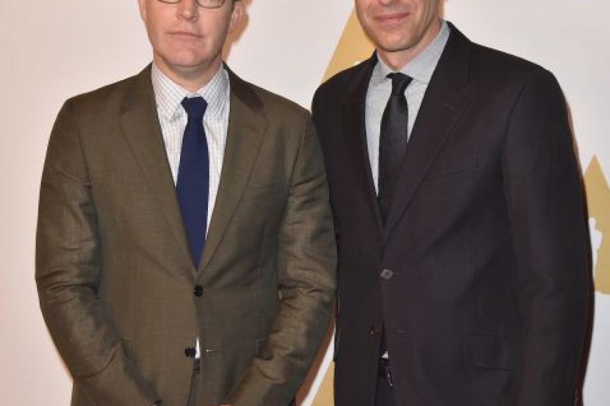 "Mejor guion original – Tom McCarthy y Josh Singer por ""Spotlight"" Foto: Getty Images. Imagen Por:"