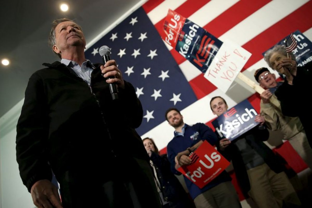 Junto con John Kasich Foto:AFP. Imagen Por: