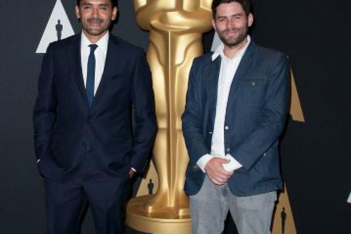 """Mejor corto animado – Gabriel Osorio y Pato Escala por """"Bear Story"""" Foto:Getty Images. Imagen Por:"""