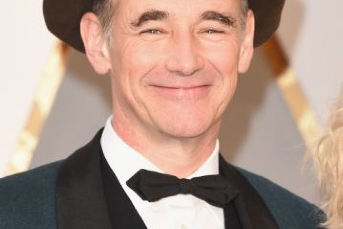"Mejor actor secundario – Mark Rylance por ""Bridge of Spies"" Foto: Getty Images. Imagen Por:"