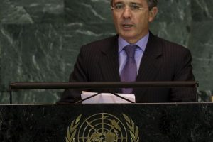 Expresidente Álvaro Uribe Vélez Foto:Getty Images. Imagen Por: