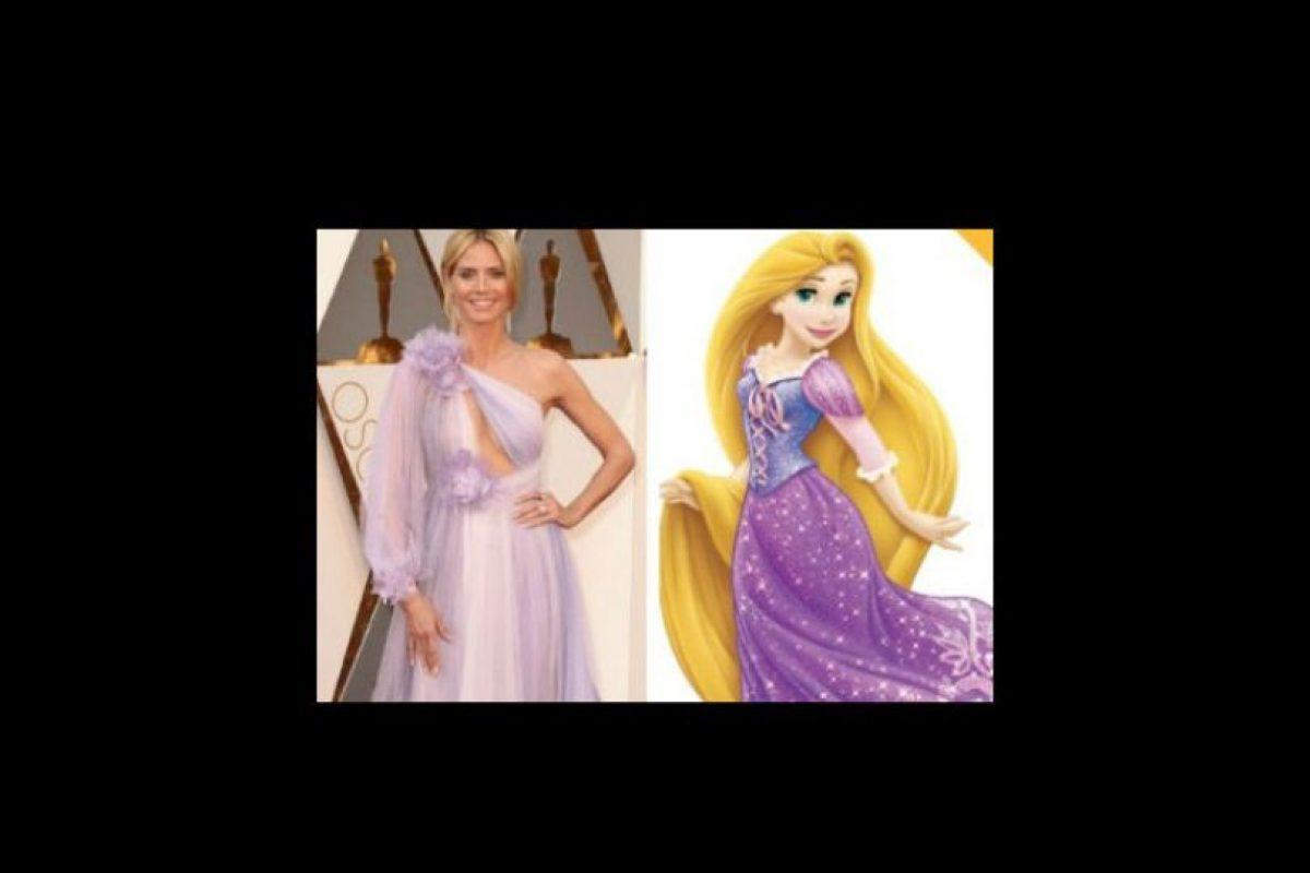 Hasta con Rapunzel. Foto:vía Twitter. Imagen Por: