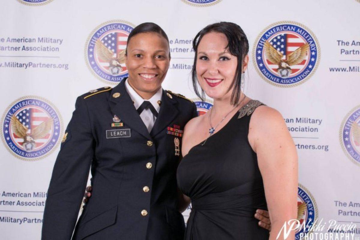 Hacen fiestas entre veteranos y sus familias Foto:Facebook/The American Military Partner Association. Imagen Por:
