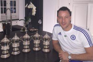 Los trofeos que ha conseguido en su carrera Foto:Vía instagram.com/johnterry.26. Imagen Por: