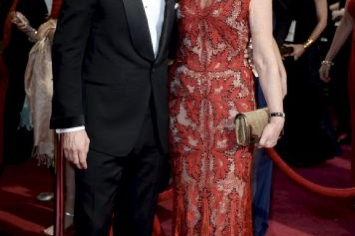 Michael Fassbender y su madre Adele Fassbender Foto:Getty Images. Imagen Por: