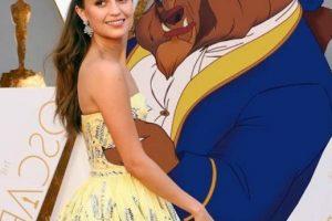"Alicia Vikander era ""Bella"". Foto:vía Twitter. Imagen Por:"