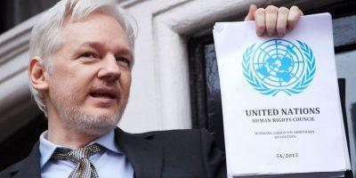 Simpatizantes de Assange piden que se respete el criterio de la ONU