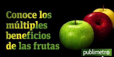 Infografía: conoce los múltiples beneficios de las frutas