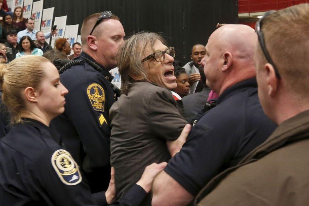 El mitin en Virginia de Donald Trump. Foto:AP. Imagen Por:
