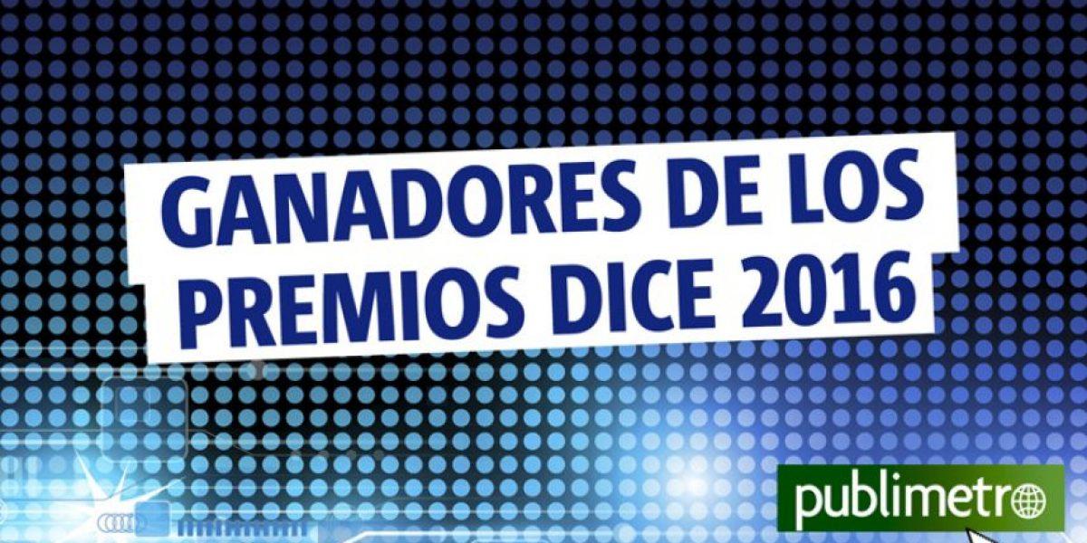 Infografía: ganadores de los premios Dice 2016