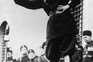 Durante su gobierno, Italia entró en la Segunda Guerra Mundial en junio de 1940. Foto:Getty Images. Imagen Por: