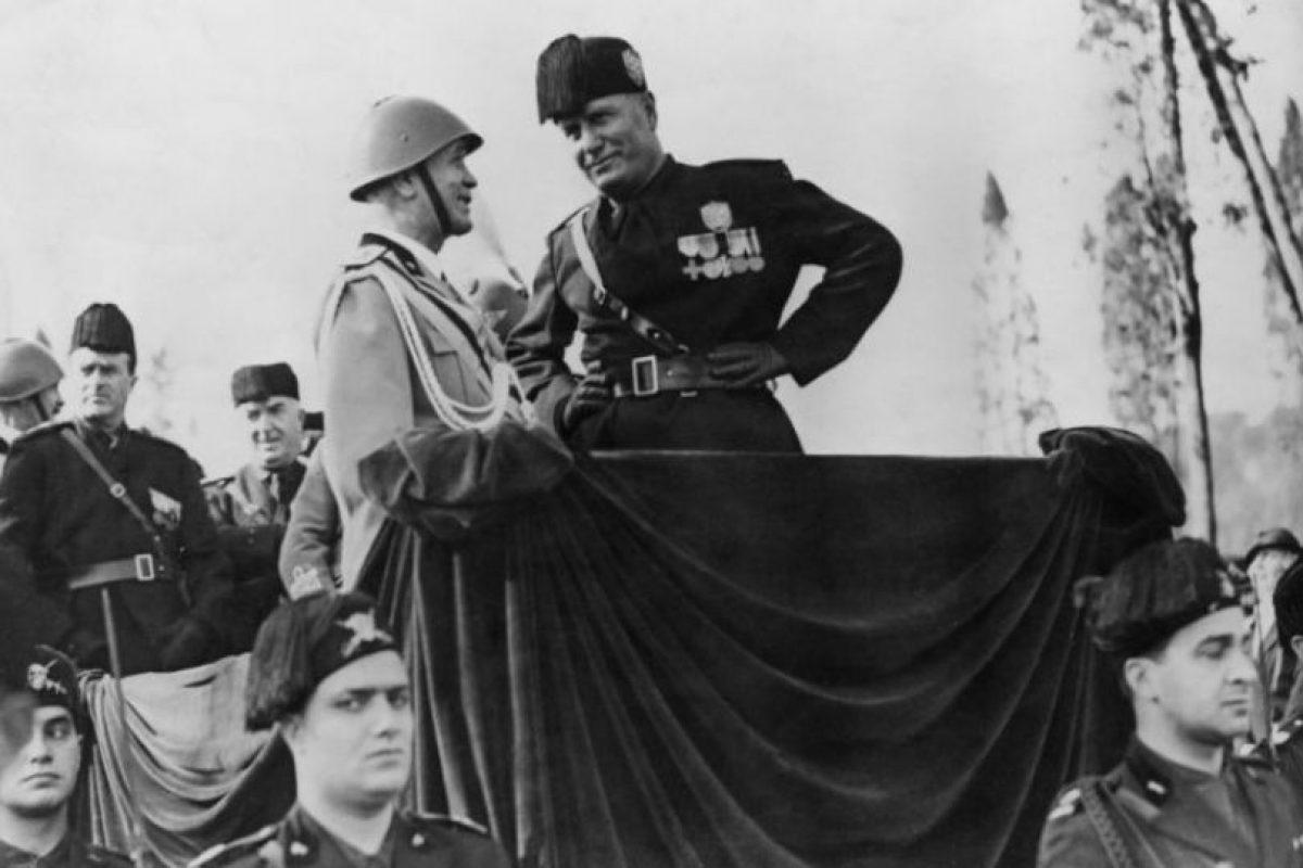 En 1945, trató de escapar a Suiza, pero fue capturado y fusilado. Foto:Getty Images. Imagen Por: