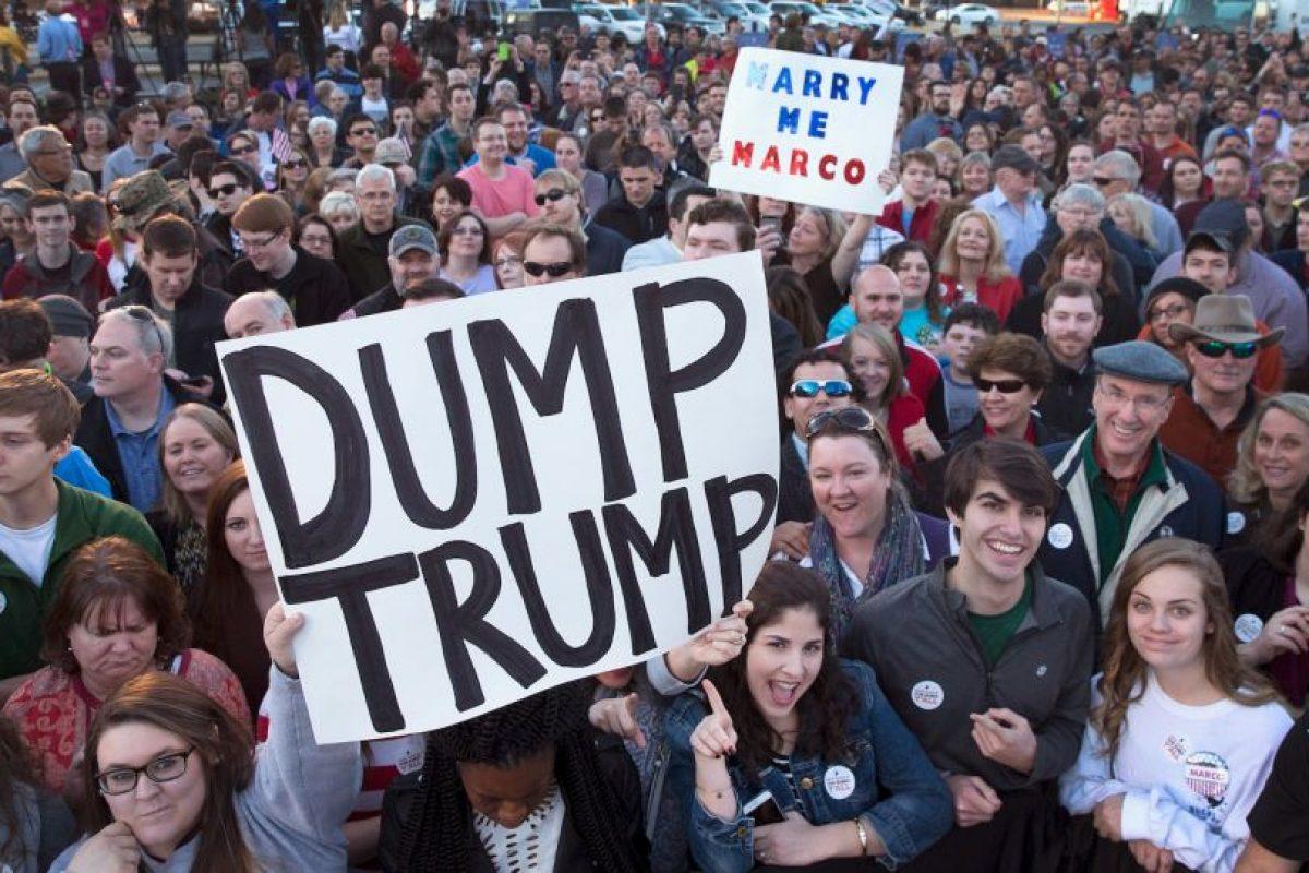 Entre sus rivales están Ted Cruz, Rand Paul y Ben Carson. Foto:Getty Images. Imagen Por: