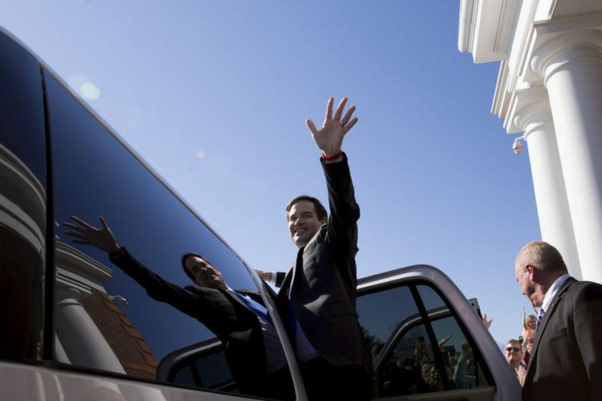 Marco Rubio se dio a conocer en 2010 Foto:Getty Images. Imagen Por: