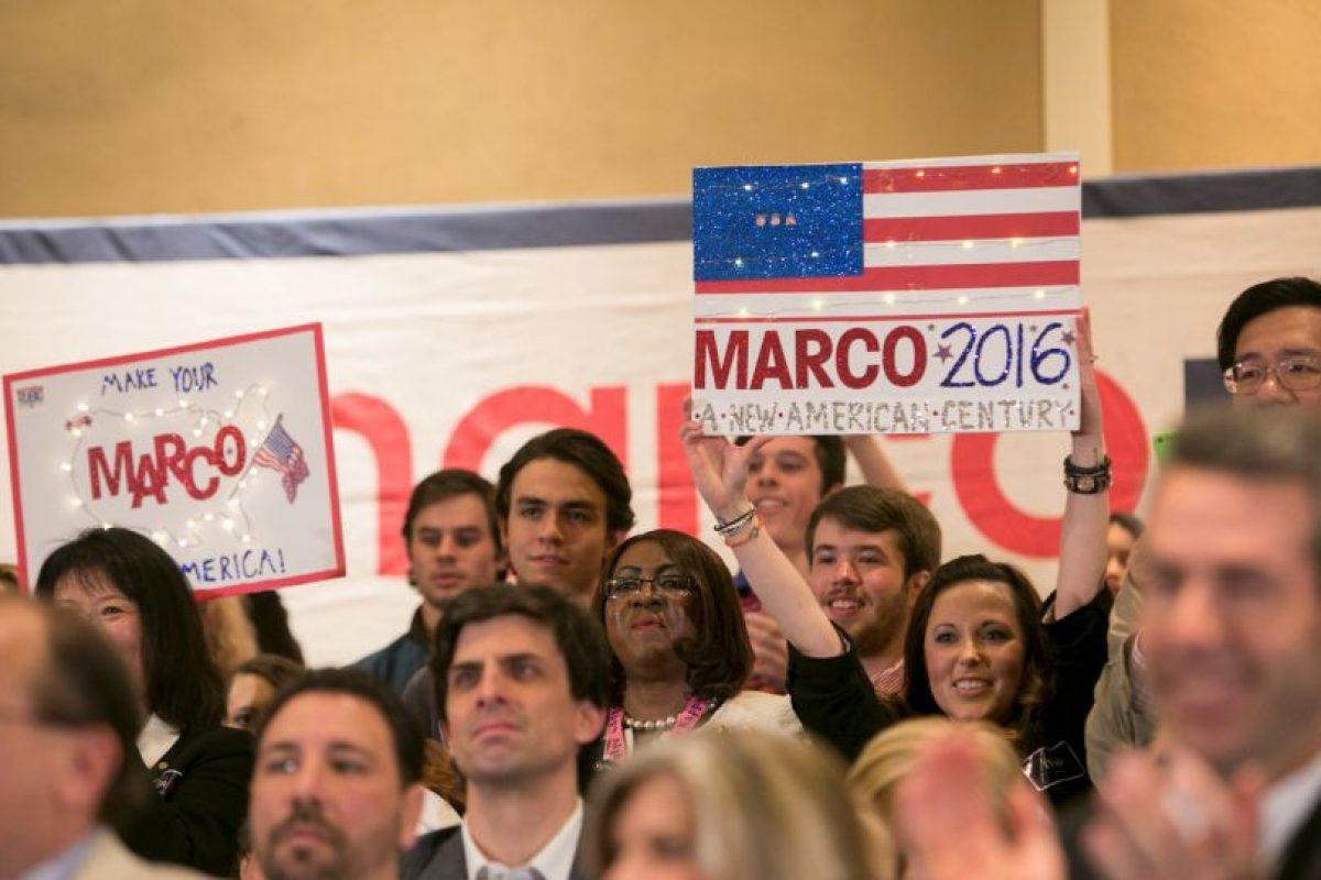 A sus 44 años es uno de los precandidatos más jóvenes del partido. Foto:Getty Images. Imagen Por: