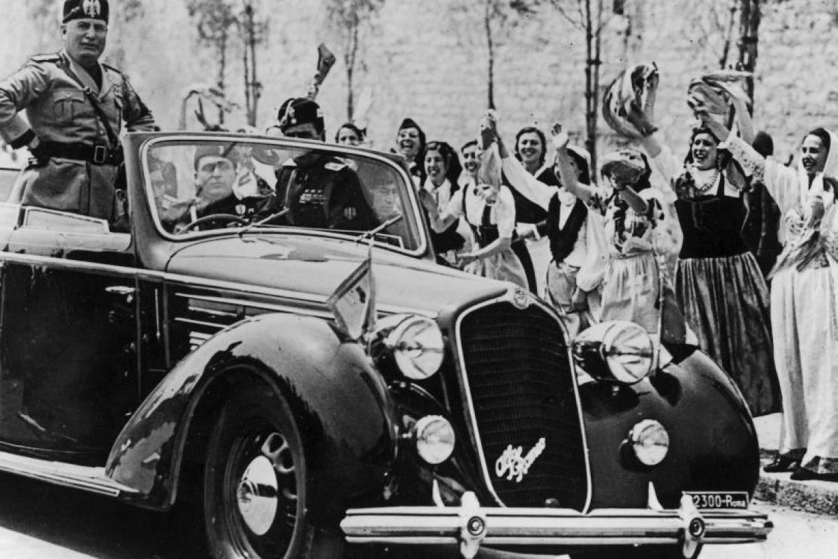 Benito Mussolini fue un dictador italiano. Foto:Getty Images. Imagen Por: